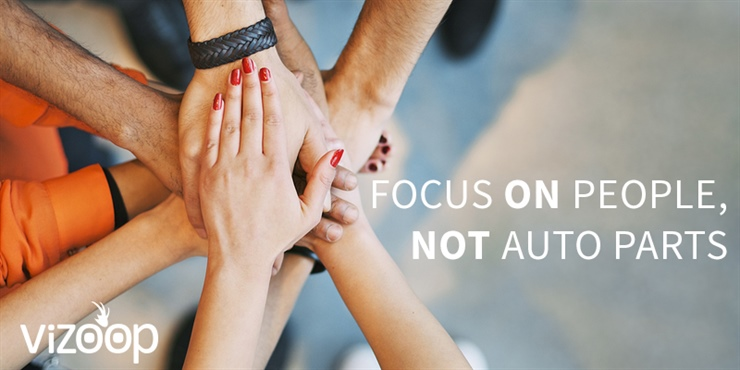 BE ACTIVE IN THE COMMUNITY: FOCUS ON PEOPLE, NOT AUTO PARTS