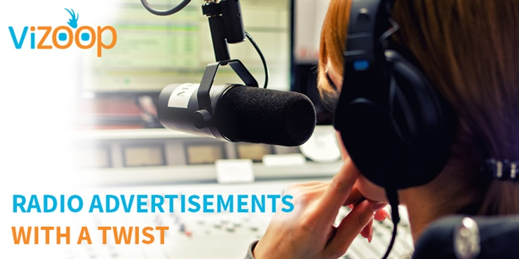 Radio Advertisements - With a twist